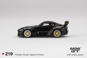 (Pre Order) Mini GT 1:64 Mijo Exclusive USA Pandem Toyota GR Supra V1.0 Black Limited Edition