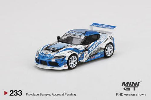 (Pre Order) Mini GT 1:64 Japan Exclusive Pandem Toyota GR Supra V1.0 Team TOYO TIRES DRIFT 2019 D1 Grand Prix