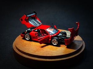 (Pre Order) PGM 1:64 Ferrari F40LM Red Diecast full open regular pack