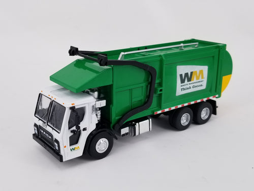 Greenlight 1:64 Waste Management Mack Garbage Truck Custom Built