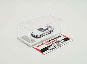 VMB 1/64 Ferrari F40 White US SPEC version diecast