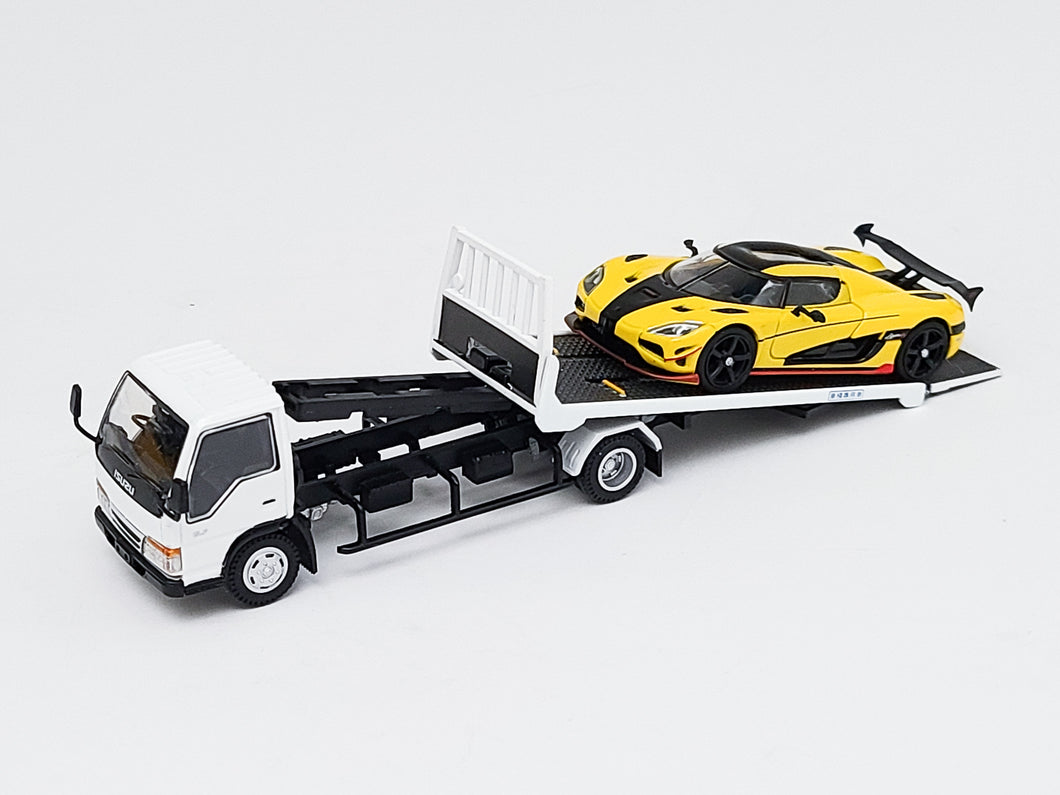 Bundle 1:64 Tarmac Koenigsegg Agera RS with YES Tow Truck