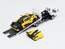 Load image into Gallery viewer, Bundle 1:64 Tarmac Koenigsegg Agera RS with YES Tow Truck