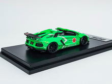 Load image into Gallery viewer, Impossible Perfect 1:64 LB Works Lamborghini Aventador Roadster GREEN 1 of 300 Pcs