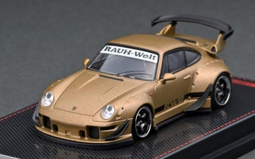 (Pre Order) Ignition Model 1/64 RWB 993 Matte Gold (IG2157) Diecast