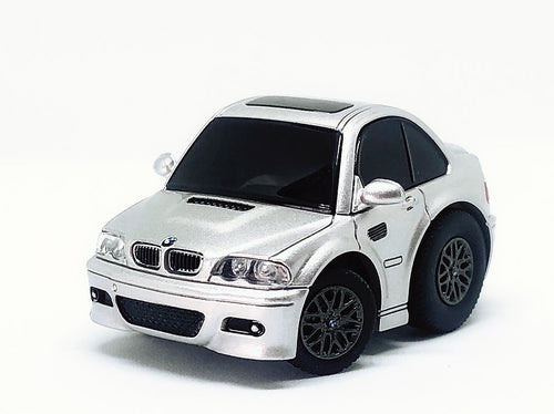 TinyQ BMW M3 (E46) Silver with Display Case