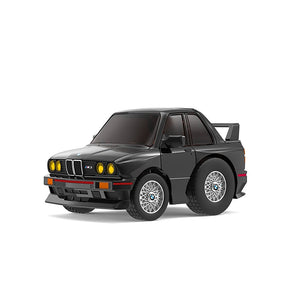 TinyQ BMW M3 (E30) Black with Display Case