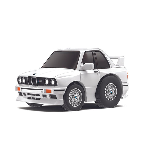 TinyQ BMW M3 (E30) White with Display Case