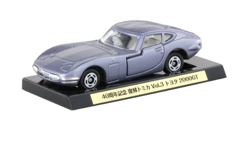 Japan Tomica Toyota 2000GT 40th Anniversary Silver