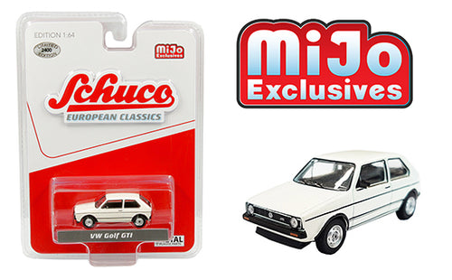 Schuco 1:64 VOLKSWAGEN GOLF GTI WHITE  Mijo Exclusive