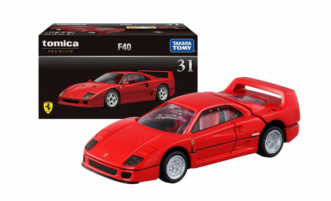 Japan Tomica Premium Ferrari F40 Red