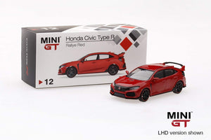 MiniGT 1/64 Honda Civic Type R FK8 Red