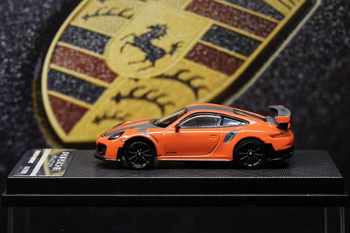 YM Models 1/64 Porsche 911 (991) GT2RS Lava Orange