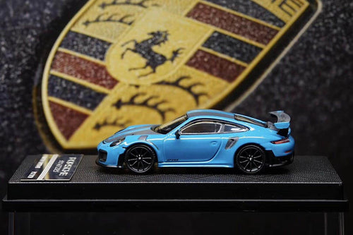 YM Models 1/64 Porsche 911 (991) GT2RS Miami Blue
