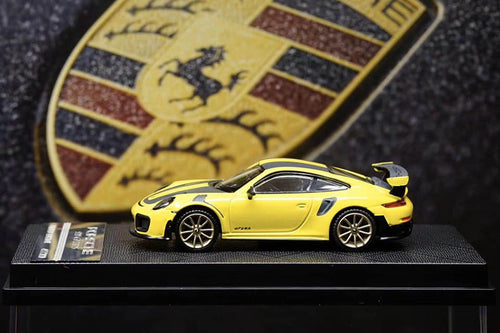 YM Models 1/64 Porsche 911 (991) GT2RS Racing Yellow