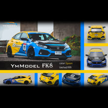 Load image into Gallery viewer, (Pre Order) YM Models 1/64 Honda Civic FK8 Spoon Sports Ltd 999pcs