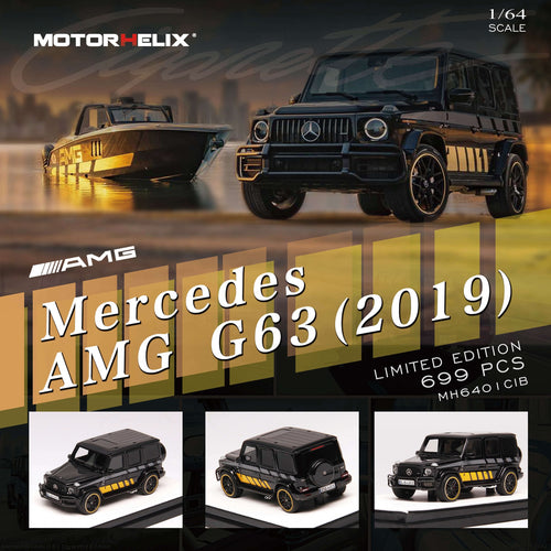 Motorhelix 1:64 Mercedes-Benz G63 AMG 2019 Edition One