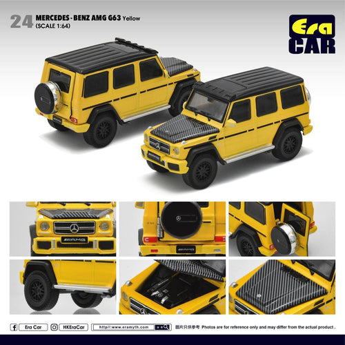 Era Car 1/64 Mercedes Benz G63 AMG G Wagon Yellow