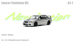 (Pre Order) Y.E.S. Accessories for 1/64 Mitsubishi Lancer Evolution IX set A