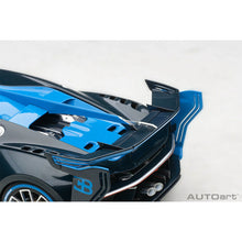 Load image into Gallery viewer, AUTOart 1/18 Bugatti Vision Gran Turismo (Bugatti Light Blue Racing/Blue Carbon) 70986