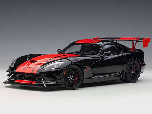AUTOart 71732 Dodge Viper GTS-R Commemorative ACR 2017 1:18 Black