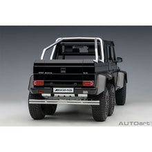 Load image into Gallery viewer, AUTOart 76306 Mercedes Benz G63 6×6 1:18 Gloss Black
