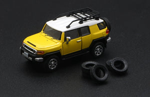 (Pre Order) BM Creation 1/64 Toyota FJ Cruiser Yellow