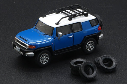 (Pre Order) BM Creation 1/64 Toyota FJ Cruiser Blue