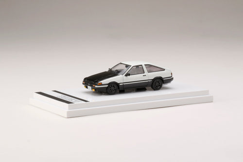 (Pre Order) Hobby JAPAN 1/64 Toyota SPRINTER TRUENO GT APEX (AE86) Customized Version / Carbon Bonnet High Tech Two Tone