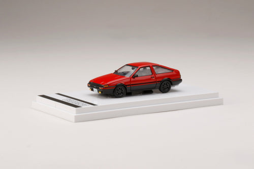 (Pre Order) Hobby JAPAN 1/64 Toyota SPRINTER TRUENO GT APEX (AE86) Customized Version High Flash Two Tone