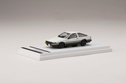 (Pre Order) Hobby JAPAN 1/64 Toyota SPRINTER TRUENO GT APEX (AE86) Customized Version High Tech Two Tone