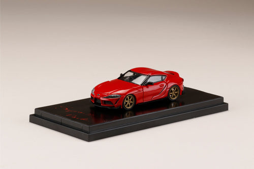Hobby JAPAN 1/64 Toyota GR Supra (A90) RZ Customized Version. Prominence Red