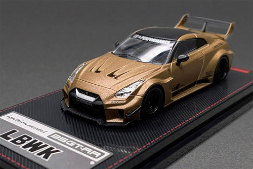 (Pre Order) Ignition Model 1/64 LB-Silhouette WORKS GT Nissan 35GT-RR Matte Gold