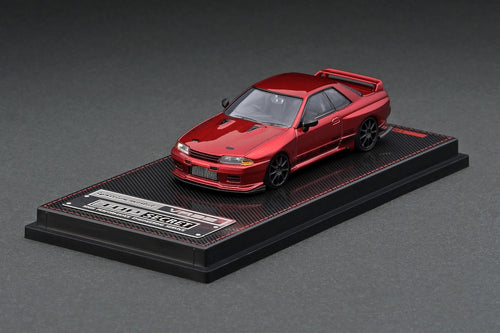 Copy of (Pre Order) Ignition Model 1/64 TOP SECRET GT-R (VR32) Red Metallic IG2392