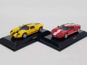 1/64 AUTOart Ford GT (Yellow) Diecast