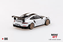 Load image into Gallery viewer, (Pre Order) MiniGT 1/64 Porsche 911 GT2 RS Weissach Package White