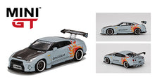 Load image into Gallery viewer, MiniGT 1:64 Nissan GT-R R35 GT Wing Pandem Malataw Fighter Edition Taiwan Exclusive