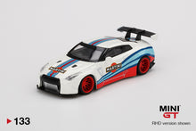 Load image into Gallery viewer, (Pre Order) MiniGT 1/64 LB WORKS Nissan GT-R R35 Type 1 Rear Wing Version 1, Martini Racing