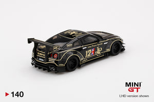 (Pre Order) MiniGT 1/64 LB★WORKS Nissan GT-R R35 Type 2 Rear Wing Version 3 JPS Mijo Exclusive