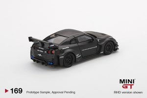 MiniGT 1:64 LB Silhouette Works GT Nissan 35 GT-R Version 1 Black China Exclusive