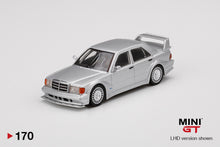 Load image into Gallery viewer, (Pre Order) MiniGT 1/64 Mercedes-Benz 190E 2.5-16 Evolution II Silver