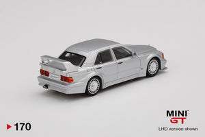 MiniGT 1/64 Mercedes-Benz 190E 2.5-16 Evolution II Silver
