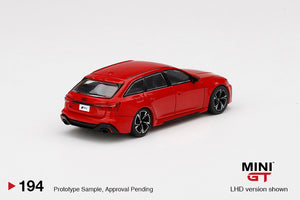 (Pre Order) MiniGT 1:64 Audi RS6 Avant Red Limited Edition