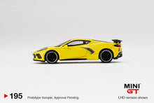 Load image into Gallery viewer, (Pre Order) MiniGT 1/64 Chevrolet Corvette Stingray 2020 Accelerate Yellow Limited Edition