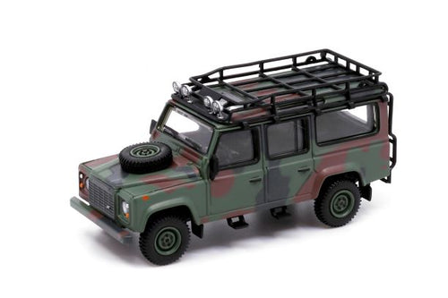 (Pre Order) Mini GT 1:64 HK Exclusive MINI GT 1/64 Land Rover Defender 110 Military Camouflage