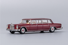 Load image into Gallery viewer, 1/64 GCD Mercedes-Benz 600 Pullman Burgundy