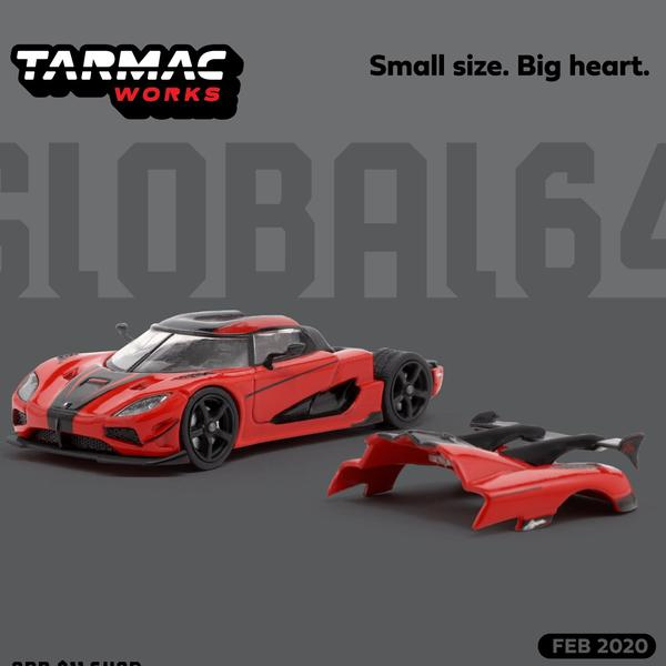 Tarmac Works 1:64 Koenigsegg Agera RS Red