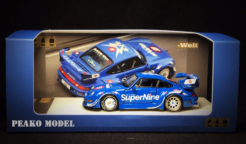 (Pre Order) PGM 1:64 Porsche RWB 993 Superline Diecast Hong Kong Peako Exclusive
