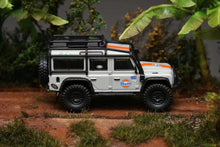 Load image into Gallery viewer, (Pre Order) Master 1:64 Land Rover Defender Gulf with Accessories