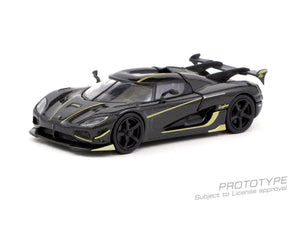 Tarmac Works 1:64 Koenigsegg Agera RS Black with Gold Stripe